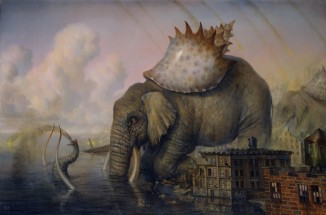 Martin Wittfooth. A Day without Rain